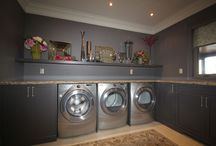 Spaces: Laundry Rooms