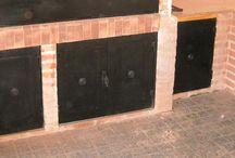 puertas bajo parrillas