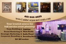 """Your Corporate Event from """"Concept to Completion!"""""""