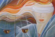 Quadros para advogados,Deusa da justiça / Quadros pintados a mão para escritórios de advocacia, tema balança,Deusa justiça,Themis,na medida desejada, aceito encomendas,compre direto com a artista
