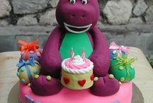 barney cakes / For Mohammed Zeyn