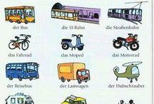 Nemčina-mesto, nákupy, doprava, cestovanie