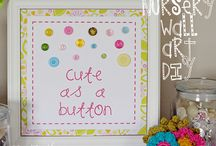 Cute as a Button Party / by Crystal {C. Linz} Lindsey