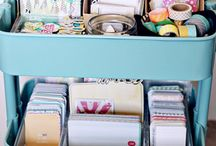 Organising my craft room / Let's get organised