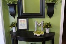 Green With Envy / Green home decor and inspiration for home design.