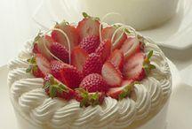 생크림 케이크
