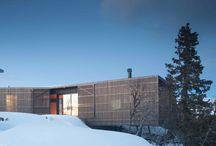 timber facade housing