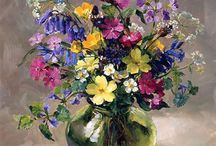 Цветы в натюрмортах