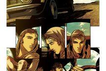 (in comics)
