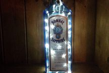 Bottle Lamps / Our bottle lamps are made to a high standard with a professional finish, creating a warm glow to homes, bars, kitchens and man caves all around the country.