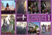 CARTOLINE DELLA SETTIMANA SANTA A CANOSA 1 Parte / Cartoline dedicate alla Settimana Santa Canosa …….le foto delle Processioni, Repositori e Tradizioni  puoi seguirli su www.settimanasantacanosa.it