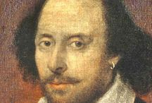 Shakespeare and friends / All that is history and poetry and joy. / by Sabby Says