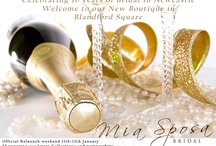 Our Boutique / Mia Sposa Bridal Boutique in Newcastle Upon Tyne http://www.weddingdressesnewcastle.co.uk/