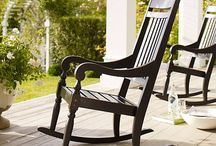 rocking chairs / by Claire Johnson