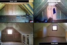 Tetőtér beépítés! / 30 m2 tetőtér beépítése a kezdetektől!