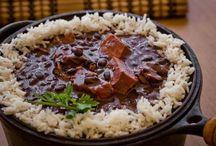 Brasilianisches Essen / Leckere brasilianische Lebensmittel