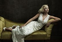 Vintage Style Gowns / Old Hollywood glamor with a modern twist. These gowns are for the elegant, sophisticated bride.
