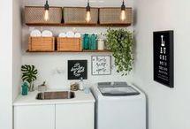 lavandarias e arrumações