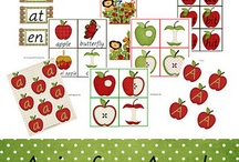 Apples and Pumpkins / Activities, books, songs, lessons, and crafts for a preschool apples and pumpkins theme