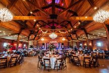 Morgan Creek Barn at The Milestone | Aubrey / Sitting on the same Estate as The Milestone | Aubrey, The Morgan Creek Barn is a 3 story timber-trussed rustic barn situated perfectly in the Texas countryside. Featuring a rustic-modern pavilion & stunning outdoor fireplace, it is the perfect place to relax & gaze upon the Aubrey countryside. Our new ceremony site is accented by string lights & pergola. Accommodating up to 300 guests for both indoor/outdoor ceremonies & receptions, it is perfect place for couples looking for a Southern wedding.