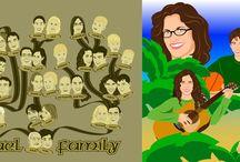 Family Trees & Portraits