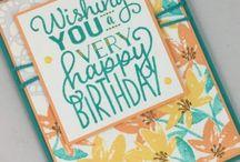 stampin up: big on birthday