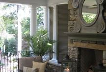 fireplaces & fire pits  / by debra gentosi-roberts