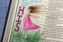 Bible Journaling Art / by MarkMartha Locke