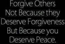 Forgiveness / by Susan Butzin