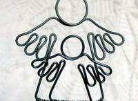 andělé drátek