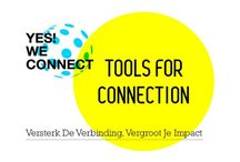 YES! WE CONNECT in action / Yes! We connect tools in action on meetings and events.