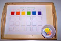 Learning Tray ideas / by Isabel Witters