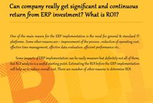Can company really get significant and continuous return from ERP investment? What is ROI?
