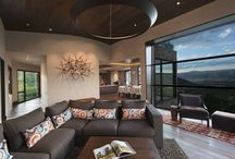 Mansion House Colorado Architecture / Interior Design / Detached house with mounain view (Aspen, Colorado)