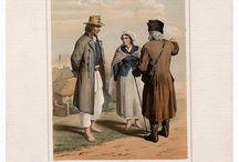 1855,  Costumes polonais dessinés d'après nature, Gerson