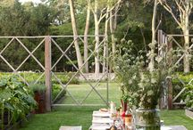 Summer Inspiration / How to use your outside space while the sun is shining!