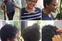 Silk Press & Beautiful / In bracing healthy hair & natural hair
