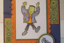 Cards - Halloween / by Elaine Swerdfeger