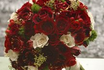 Red/Marsala Bouquets