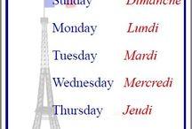 Les jour de la semaine