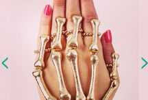 Rings with bling / A hand full of jewels is a hand full of love