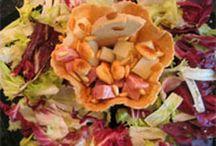 Nuestras ensaladas, las mejores... ¿O no? :) / Las mejores Ensaladas con frutas, con verduras, de pasta, variadas... https://cookpad.com/es/buscar/ensaladas