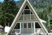 Allergies? No problem we have Non-pet friendly cabins too! / Non-pet friendly cabins at Wallowa Lake.