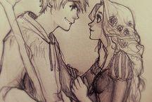 Jack and Rapunzel