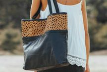 <<  LEATHER BAGS  >> / Bohemian Luxe leather bags and accessories