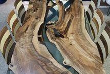 trabalhos em madeira