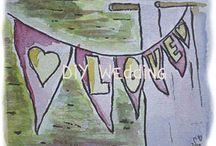DIY: Hazlo tú mism@ / Ideas e inspiración para que tú misma puedas organizar y decorar tu boda natural y bohemia.