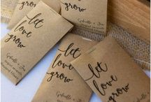 "Clever wedding ""favors"""