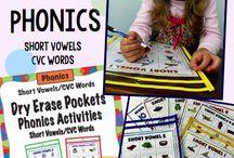 ~Classroom Short Vowel / CVC Activities