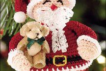 Christmas Crochet Santa
